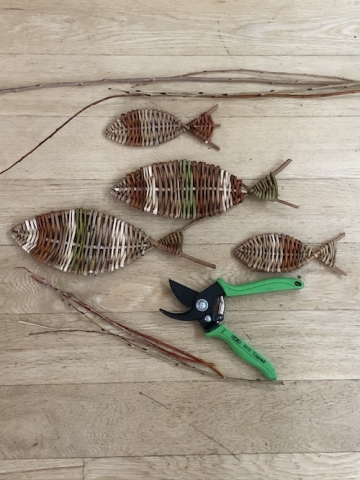 Making fish from willow