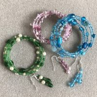 Glass bead bracelets