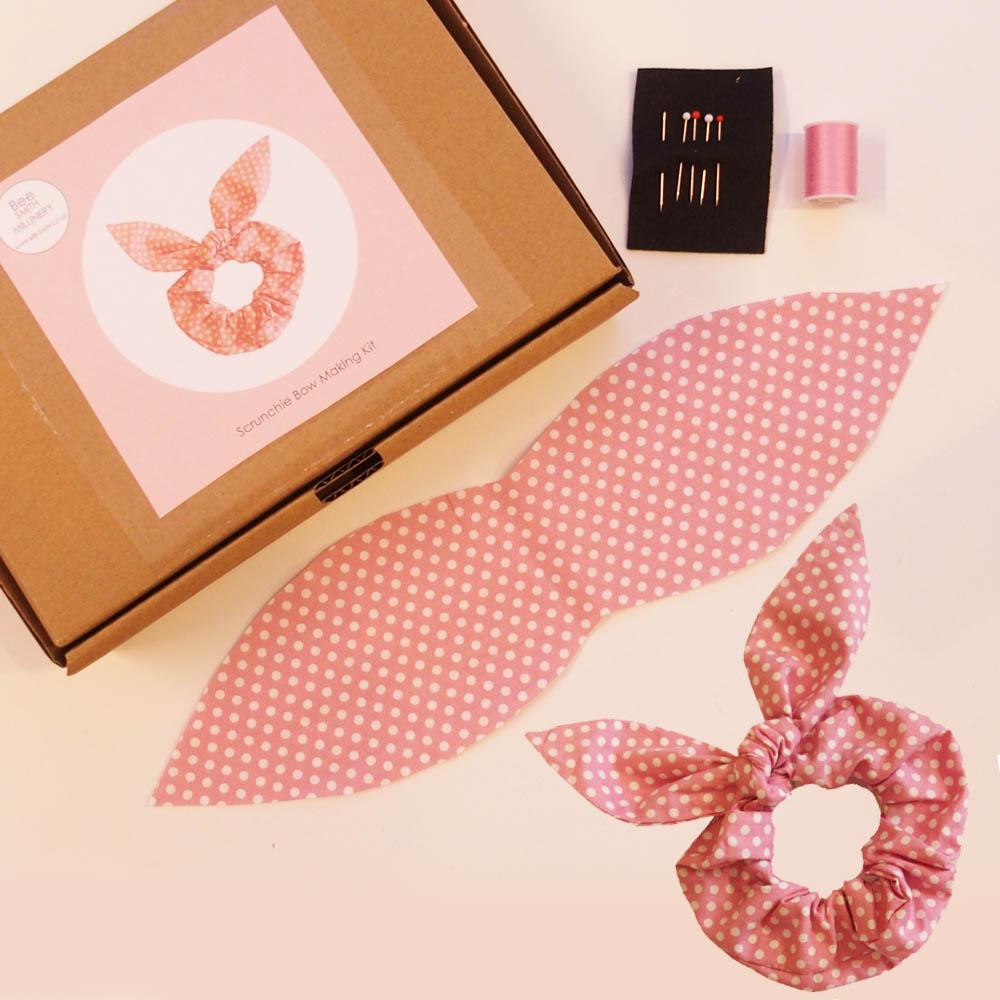 pink spotty kit